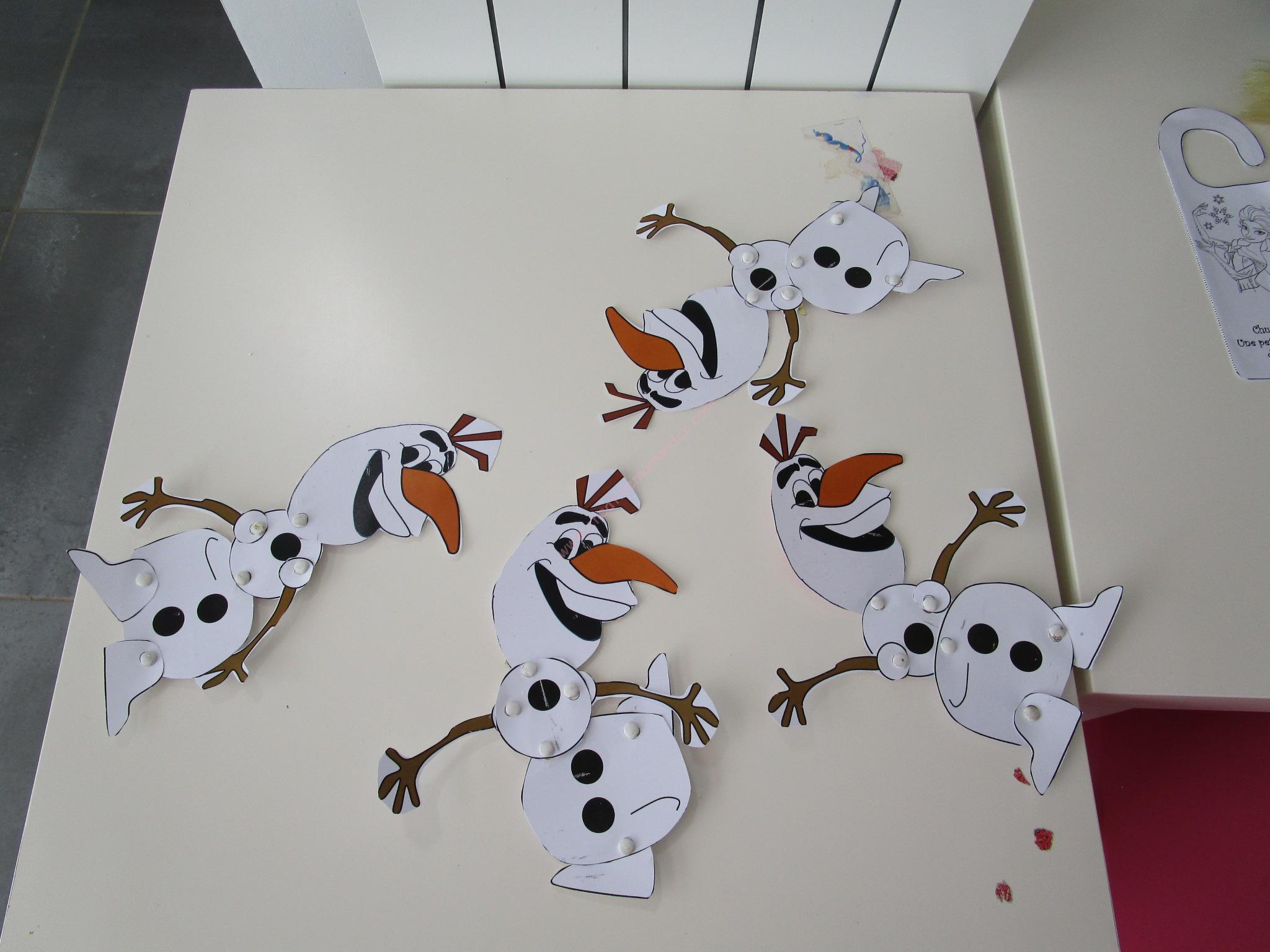 Préférence Notre anniversaire Reine des neiges: 4-les animations ! (Frozen  LH11