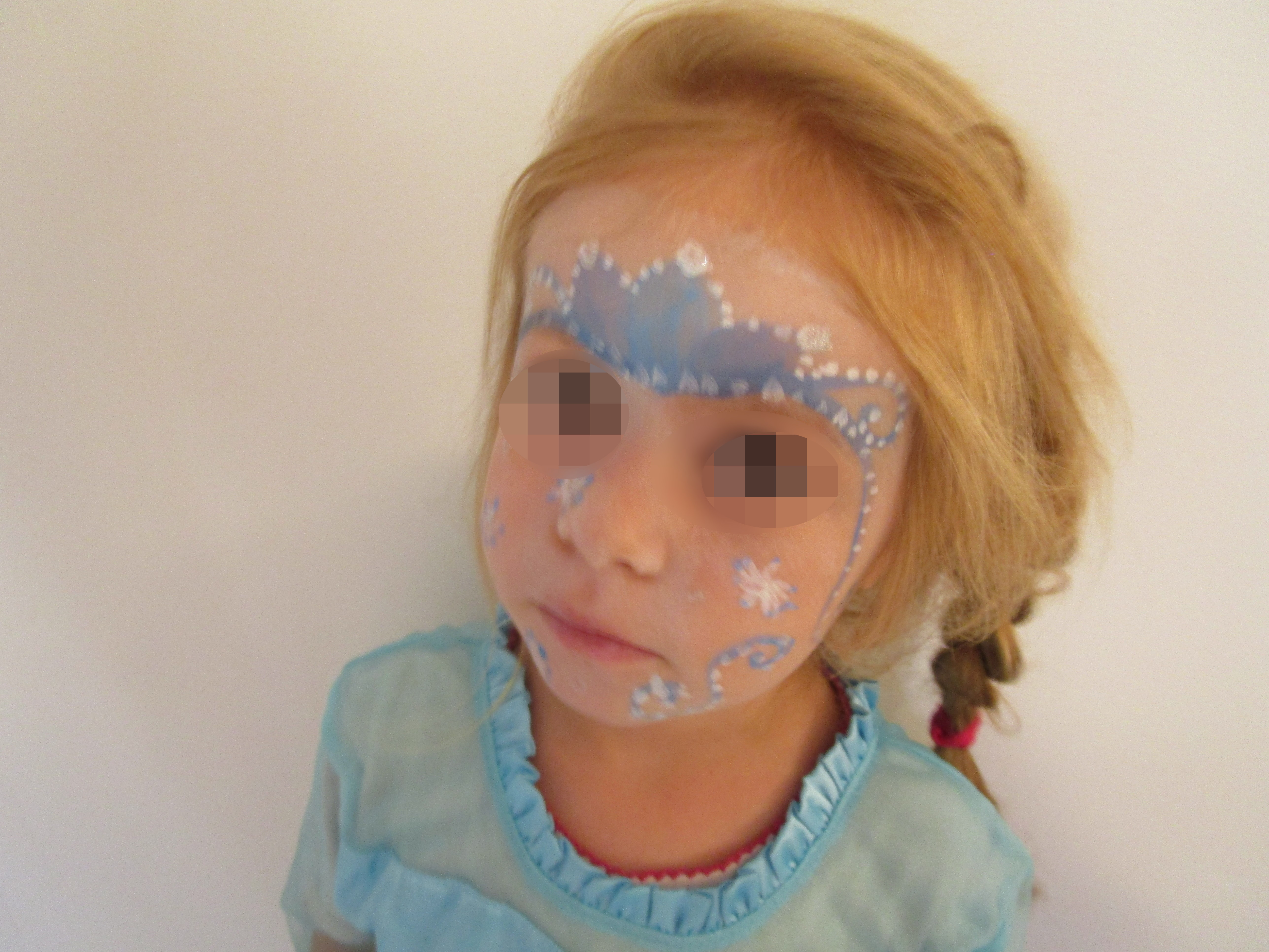 Face Painting Frozen Easy
