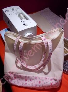 Atelier Tote Bag Aiguille en Fête Creativemumandco