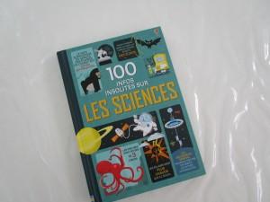 100 infos insolites sciences Usborne