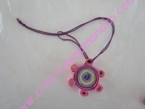 DIY: un collier en quilling pour la Fête des mamans