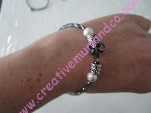 DIY: bracelet résille et charms