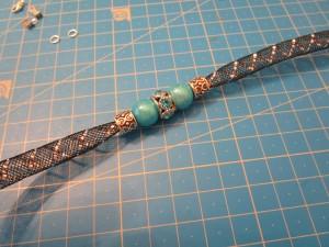 Tuto bracelet tube resille tuto étape 1