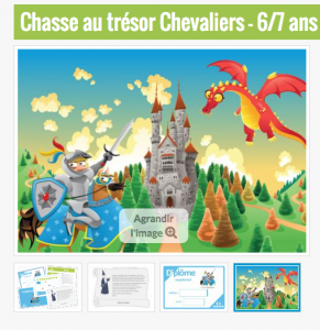 ChasseOtresor chevaliers