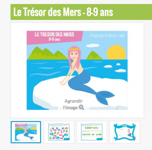 ChasseOtresor des Mers