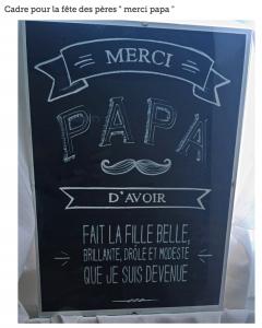 Cadre Fete des Papas