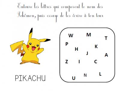 Un Cahier D Activites Pokemon Gratuit A Telecharger