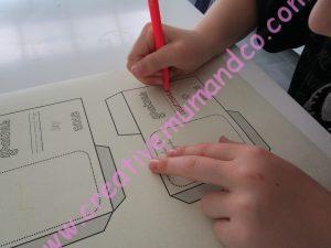 DIY: faire ses sachets de graines maison décoré par les enfants