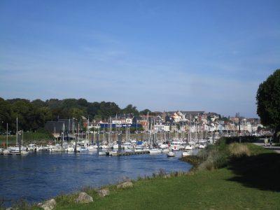 Saint Valéry sur Somme: les bateaux