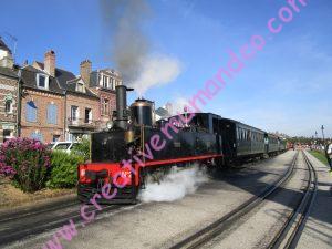 Saint Valéry sur Somme: le chemin de fer à vapeur