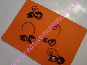 chat noir quilling tuto