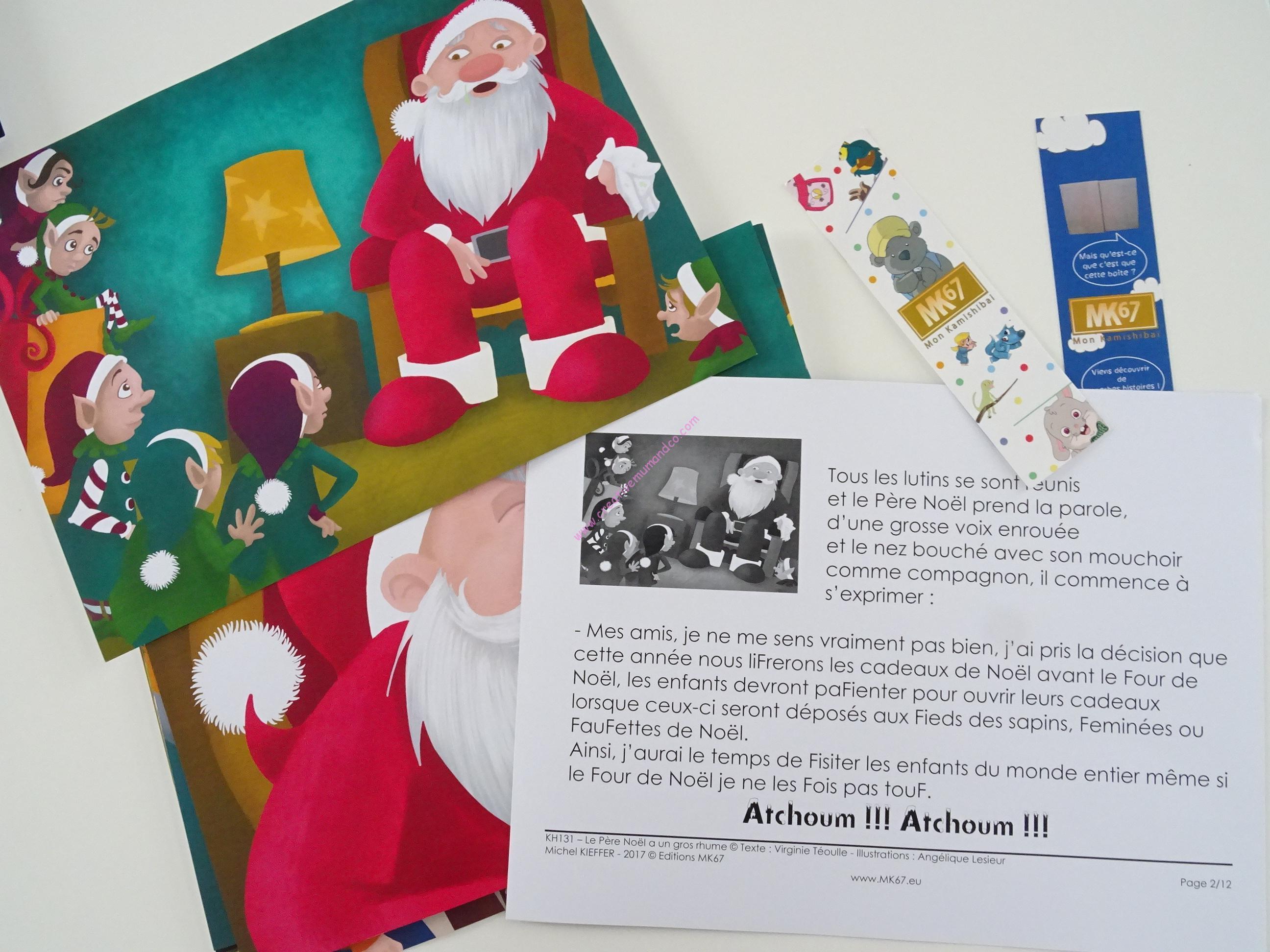Kamishibai Histoires Pour Les Enfants Le Pere Noel A Un
