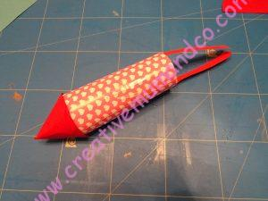 diy fusée feu artifice enfants fusée rose