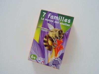 jeu de sept familles sur les abeilles