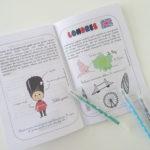 livret PDF Londres et Royaume Uni carnet de voyage pour enfants