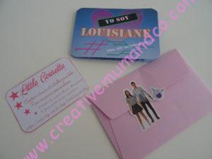anniversaire yo soy franky photobooth invitations enveloppes