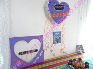 anniversaire yo soy franky deco table