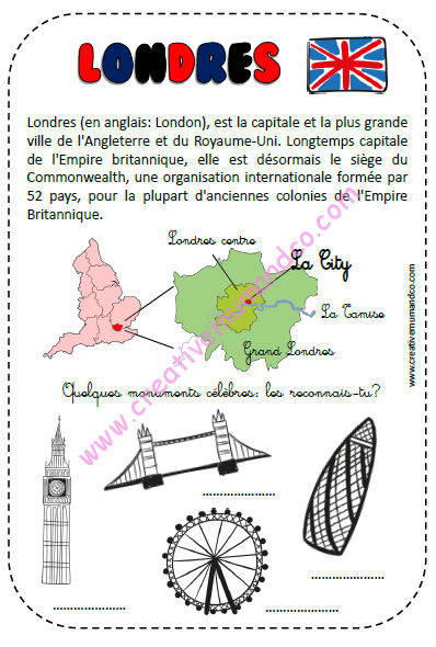 carnet de voyage londres et royaume uni ludique et p dagogique 25 pages pdf. Black Bedroom Furniture Sets. Home Design Ideas
