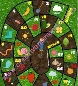 jeu oie légumes fruits