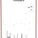 jeu thème dinosaure relier les points