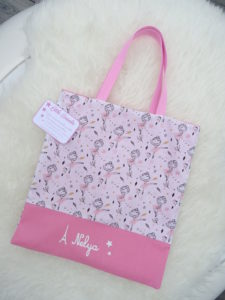 sac maternelle prénom