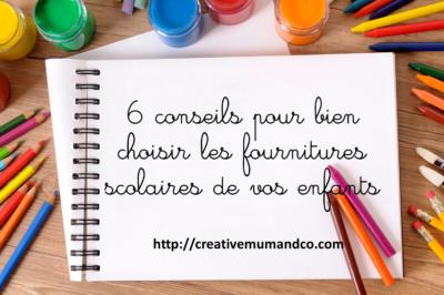 6 conseils pour bien choisir les fournitures scolaires des enfants. Black Bedroom Furniture Sets. Home Design Ideas