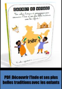 Carnet de voyage PDF activités pédagogiques jeux Inde
