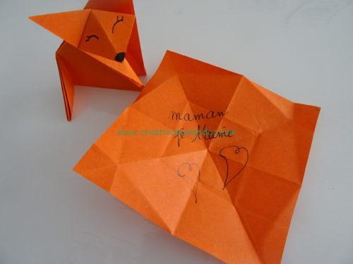 Pdf Tuto Gratuit Origami Renard A Telecharger
