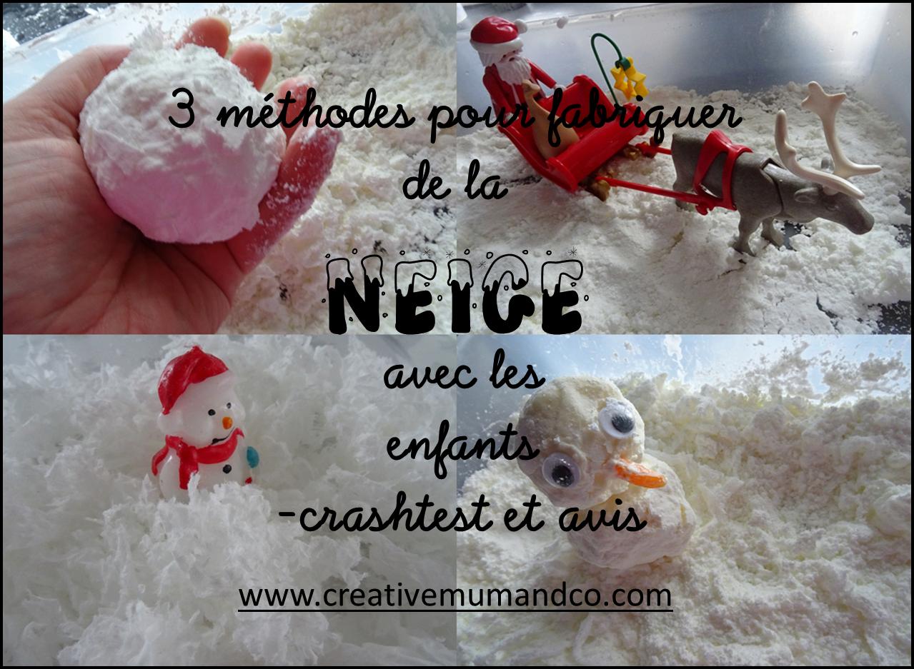Comment Faire Des Boule A Neige 3 méthodes pour fabriquer de la neige avec les enfants
