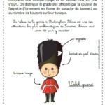 un carnet de voyages enfants Londres welsh guard