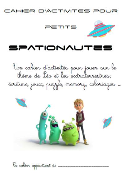 cahier de jeux Léo et les extraterrestres à télécharger gratuit