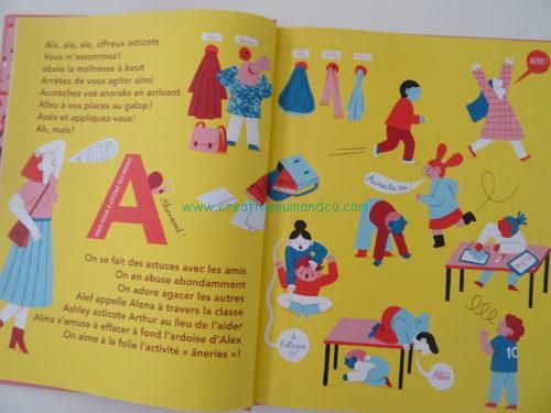 Mon Ecole De Aie A Zut Un Abecedaire Original Et Rigolo Aux Editions Saltimbanque